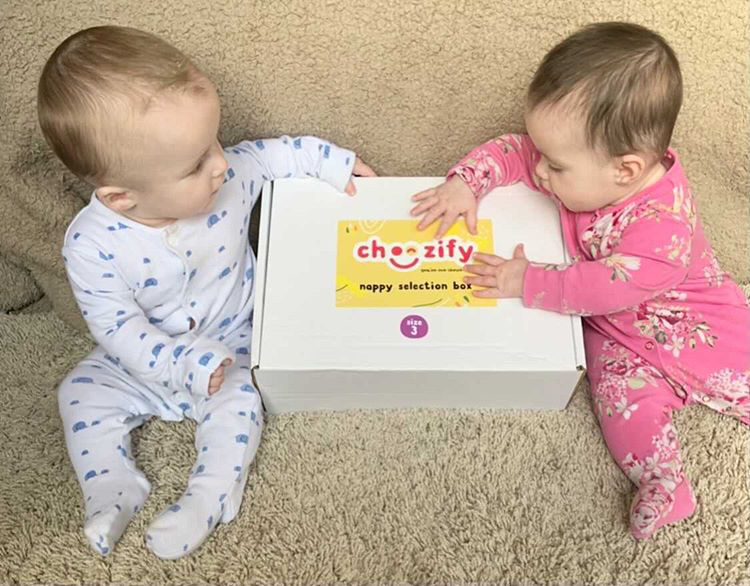 Archie and Elsie and their Nappy Selection Box